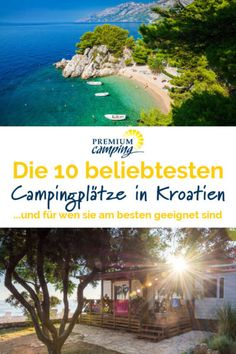 Discover Croatia with your ideal campsite - Premiumcamping.de You want to discover Croatia with a camping site, but can hardly see the variety of camping sites in Croatia and all its fa Kayak Camping, Camping Hacks, Campsite, Camping Ideas, Travel Hacks, Winter Camping, Camping With Kids, Family Camping, Camping Checklist