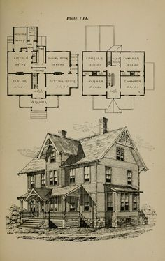 Antique House, Model Homes, The Borrowers, House Plans, Floor Plans, How To Plan, Catalog, Archive, House Ideas
