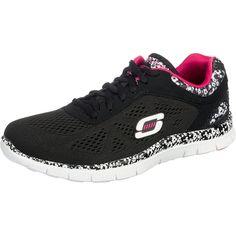 #SKECHERS #Damen #Flex #Appeal #Island #Style #Sneakers #schwarz - Die SKECHERS  Flex Appeal Island Style Sneakers sind aus Mesh gearbeitet und bekommen ...