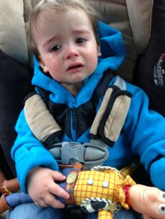 OMG...these pics are too funny!  One Dad posts pics and reasons for his Son's crying....
