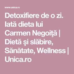 Detoxifiere de o zi. Iată dieta lui Carmen Negoiţă | Dietă şi slăbire, Sănătate, Wellness | Unica.ro Health Fitness, Recipes, Food, Smoothie, Silhouettes, Exercise, Recipies, Essen, Smoothies