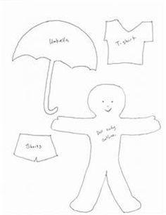 Felt or flannel board dress-up templates - perfect for preschools and daycares, or parents of toddlers and preschoolers. Felt Board Templates, Felt Board Patterns, Templates Printable Free, Printables, Classroom Crafts, Classroom Fun, Felt Diy, Felt Crafts, Toddler Preschool