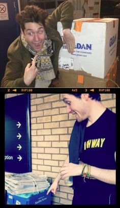 In which Dan finds his name in random places...   And is genuinely happy with it!
