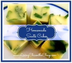 **How to Freeze Herbs: Homemade Saute' Cubes** Here is an iInexpensive and easy way to keep all those extra fresh herbs from going to waste. Freezer Cooking, Cooking Tips, Cooking Recipes, Healthy Recipes, Inexpensive Healthy Meals, Easy Meals, Cubes, Frosty Recipe, Frozen Meals