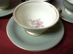 Castleton, China Dinnerware USA Rosemere, set 2 Cup and saucer set