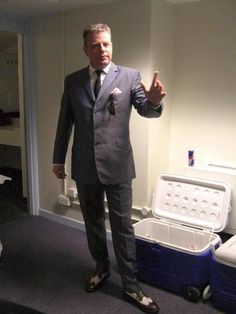 Suggs. Madness chic.