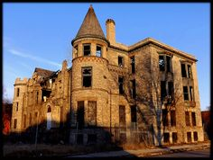 James Scott Mansion, Peterboro and Park (from Northwest) built in 1897--Detroit MI | Flickr - Photo Sharing!