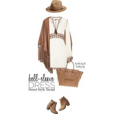 Untitled #1509 by contrary-to-ordinary on Polyvore featuring Talitha, MANGO, maurices, CÉLINE, rag & bone and bellsleevedress