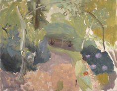 ivon hitchens - spring woodland