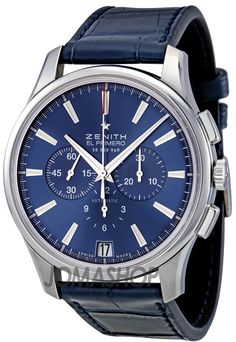 Zenith Captain Chronograph Blue Dial Automatic Mens Watch 03211640051C700 $5,180