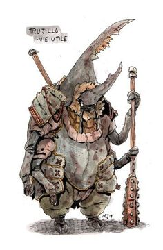 Art by Marek Jarocki Fantasy Character Design, Character Design Inspiration, Character Concept, Character Art, Concept Art, Kobold, Monster Design, Creature Concept, Creature Design