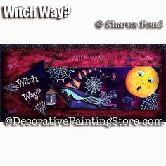 Witch Way ePattern - Sharon Bond - PDF DOWNLOAD