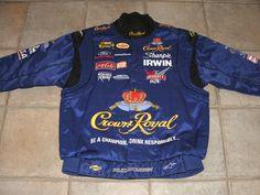 Crown Royal Roush Racing Race Jacket NASCAR IMCA NHRA Chevy Ford MOPAR Drag F1 2