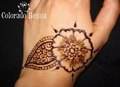 Hand design done just before a beach vacation! #ColoradoHenna #Henna #hennadesigns #tattoo #mehndi #designs #handhenna #beautiful #hennastain http://www.coloradohenna.com