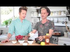 Kitchen Face Mask Fabulousness! | Boy Meets Beauty | with Gregory Dylan and guest Theodore Leaf - YouTube