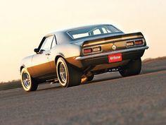 Camaro 1968 slicks and skinnies