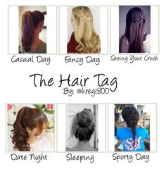 """""""Hair Tag"""" by keiraashlyncliford ❤ liked on Polyvore featuring Pin Show"""