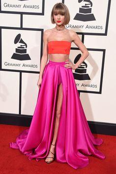 Grammys: Taylor Swift in Atelier Versace