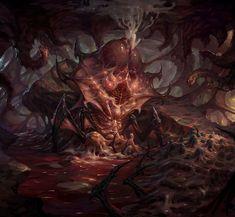 Alien Concept Art, Creature Concept Art, Fantasy Monster, Monster Art, High Fantasy, Dark Fantasy Art, Giger Art, Lovecraftian Horror, Beast Creature
