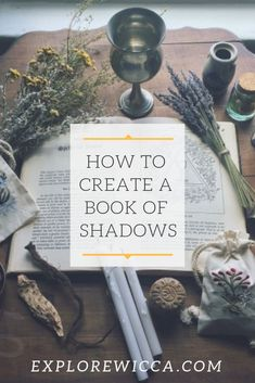 Use our step-by-step guide for ideas on designing and organizing the contents of your book of shadows! Find inspiration, create a protection blessing, and more! #wicca #witchcraft #grimoire #journal #magick