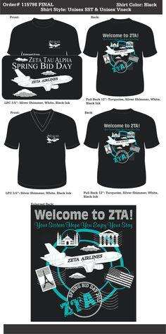 Zeta Tau Alpha Spring Bid Day  http://www.greekt-shirtsthatrock.com/