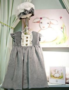 grey velvet dress~ for the holiday season!