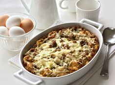 BREAKFAST SAUSAGE BAKE. A warm, hearty meal that'll become a mainstay alongside classic breakfast favorites like eggs and bacon.