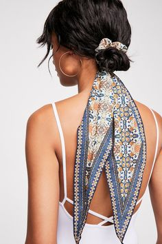 On The Road Scarf Pony | Free People