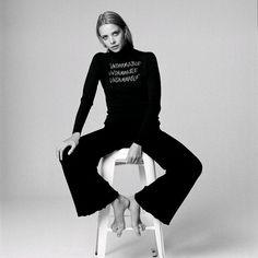 Greta Bellamacina x John Smedley collaboration celebrating the power of women Icon Design, Collaboration, Knitwear, Women Wear, Celebrities, Instagram Posts, Shopping, Style, Fashion