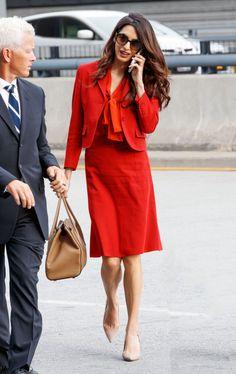 Возвращение на работу: Амаль Клуни вышла из декрета через 3 месяца после родов