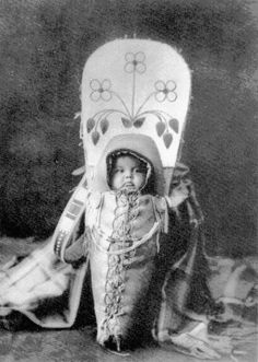 Native American Cradleboard. My children will have a similar picture.