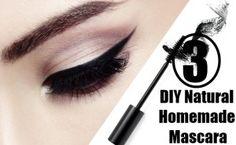 DIY All Natural Homemade Mascara