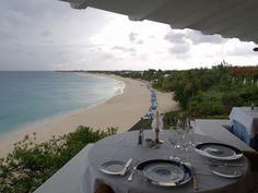 Combinación perfecta de una sofisticada gastronomía y un hermoso paisaje.