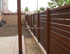 M s de 1000 ideas sobre vallas de madera en pinterest for Barandillas de madera para jardin