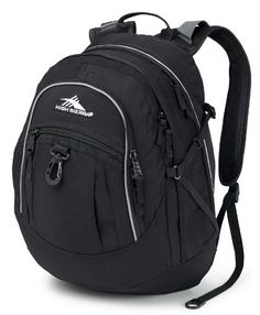 High Sierra Fat Boy Backpack (Black)  - Click image twice for more info - See a larger selection of school backpacks at http://kidsbackpackstore.com/product-category/school-backpacks/ - kids, kids backpack, school backpack, everyday backpack, school bag, gift ideas, teens backpacks.