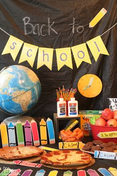 Back to School Party - simple, creative ideas!