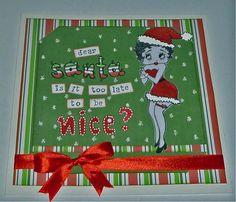 A christmas card for craftycroppersgr.blogspot.com