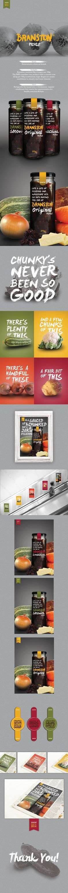 DesignBridge 2014 Branston Pickle on Behance