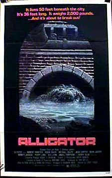 I have to watch this movie at least once a year. Probably because it was in regular rotation on TV when I was a kid, but mostly because there's no better giant killer crocodylian movie around