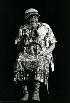 "Jackie ""Moms"" Mabley, born Loretta Mary Aiken was an American standup comedian and a pioneer of the so-called ""Chitlin' Circuit"" of African-American vaudeville."