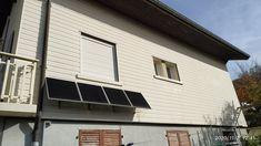 Découvrez l'installation solaire de Jean-Philippe en Saône-et-Loire ! 1 kit neutre avec des fixations au mur ! Installation Solaire, Fixations, Philippe, Garage Doors, Outdoor Decor, Home Decor, Neutral, Wall, Decoration Home