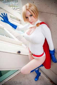 """sharemycosplay: """" A Crystal Graziano (@itsprecioustime) Mega collage featuring possibly one of the best Power Girl #cosplay's ever! http://sharemycosplay.tumblr.com Sharing the cosplay for you! Check..."""
