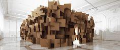 Sound Sculpture by Zimoun