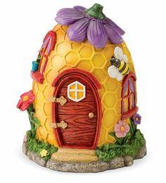 Fairy Village Special - 5 Fairy Houses Fairy Set