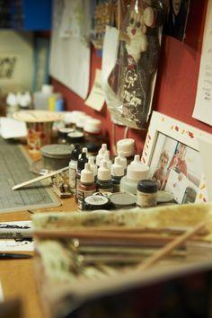 Impressionen aus dem Atelier von Christian Roth www.ARTvergnuegen.com #ARTvergnuegen #bepartoftheart