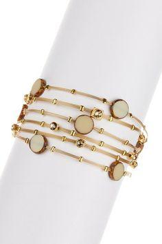 Swarovski Crystal & Metal Bracelets - Set of 6 by Non Specific on @HauteLook