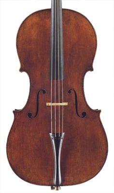 The 'Davidoff' Stradivari cello that belonged to Jacqueline du Pré. Yo-yo Ma has it now.
