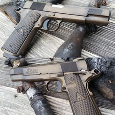"""481 Likes, 2 Comments - MAD Custom Coating (@madcustomcoating) on Instagram: """"Our Classic #WarTorn on a #DaltonFury #1911. Here's all the details on this custom gun: Custom…"""""""