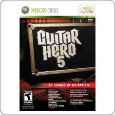 Xbox 360 Guitar Hero 5 R$89.90