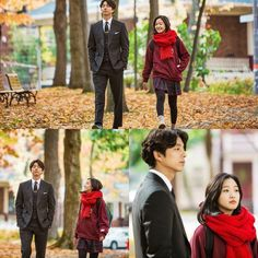 Actors Gong Yoo and Kim Go-eun photos of their shoot in Canada for the upcoming tvN anniversary special drama, 'Goblin', was released online. Korean Actresses, Korean Actors, Actors & Actresses, Korean Dramas, Goblin Korean Drama, Goblin Gong Yoo, Ji Eun Tak, Goblin Kdrama, Moorim School
